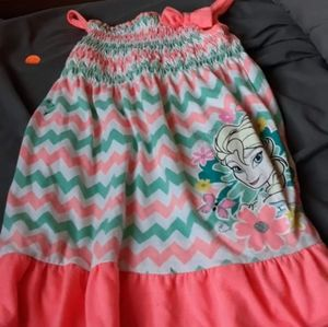 Elsa toddler dress